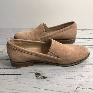 Gianni Fermani Pale Pink Leather Wooden Heel Boots